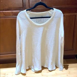 Free People Thermal Top - Size M